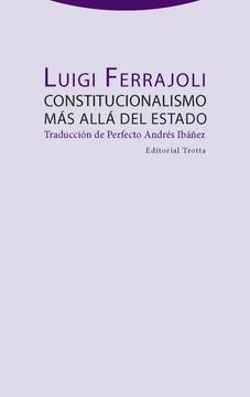 portada Constitucionalismo más Allá del Estado [Próxima Aparición]