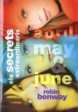 portada Els secrets extraordinaris d'April, May i June (Lluna roja)