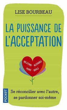 portada La Puissance de L'acceptation (Pocket. Evolution) (libro en Francés)