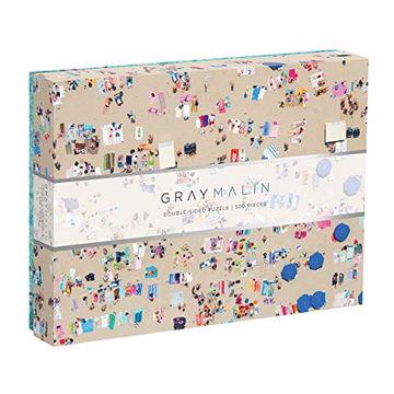 portada Gray Malin Beach - Puzle de Doble Cara (500 Piezas) (libro en inglés)