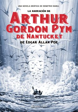 portada La Narración de Arthur Gordon pym de Nantucket