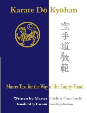 portada Karate Do Kyohan: Master Text for the Way of the Empty-Hand