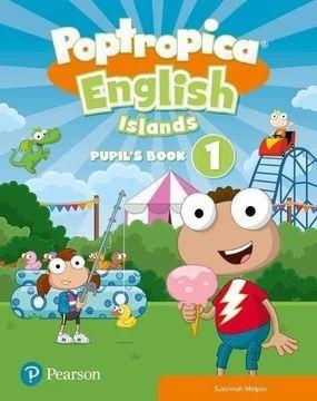 portada Poptropica English Islands Level 1 Pupil's Book and Online Game Access Card Pack (libro en inglés)