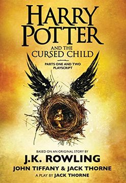 portada Harry Potter and the Cursed Child, Parts one and Two: The Official Playscript of the Original West end Production (libro en inglés)
