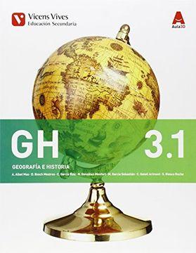 portada Geografia e Historia gh 3 (3. 1-3. 2) ( Eso) Aula 3d (Ceuta y Melilla) - 9788468230436