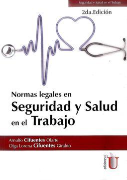portada Normas Legales en Seguridad y Salud en el Trabajo. 2da Edici? No