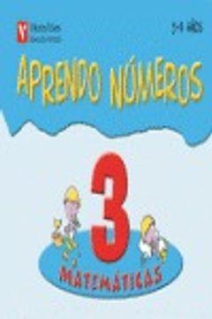 portada Aprendo Numeros Cuaderno 3 (3-4 Años)