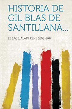 portada Historia de gil Blas de Santillana.
