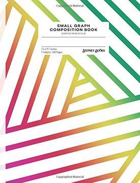 portada Small Graph Composition Book: Geometric Prism (Style b) (Geometric Prism-B) (libro en inglés)