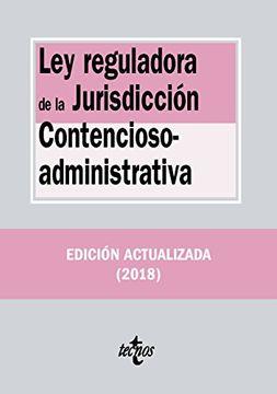 portada Ley Reguladora de la Jurisdicción Contencioso-Administrativa
