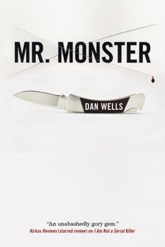 portada Mr. Monster (John Cleaver Books (Paperback)) (libro en inglés)