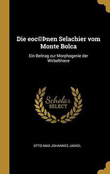 portada Die Eoc (libro en Alemán)
