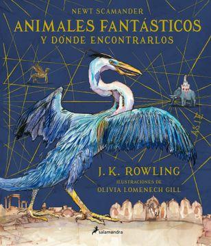 portada Animales Fantásticos y Dónde Encontrarlos