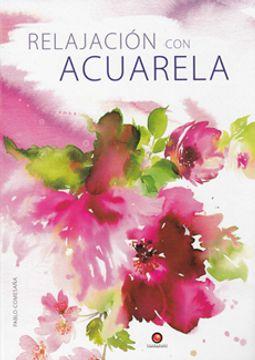 portada Relajacion con Acuarela. Pintura