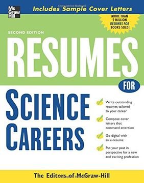 portada Resumes for Science Careers (libro en Inglés)