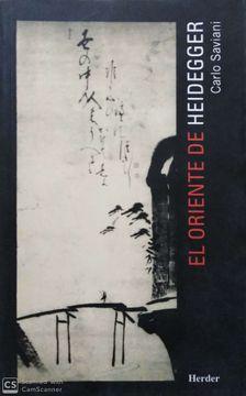 portada ORIENTE DE HEIDEGGER