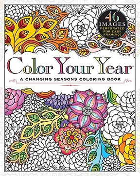portada Color Your Year: A Changing Seasons Coloring Book