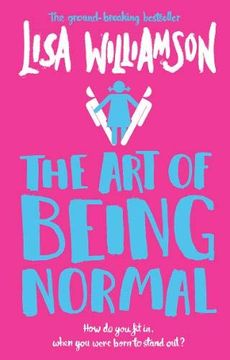 portada The art of Being Normal (libro en Inglés)