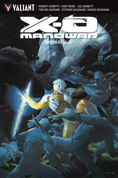 portada X-o Manowar Edicion de Lujo 1