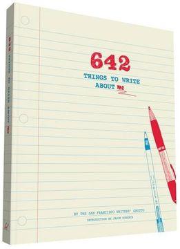 portada 642 Things to Write About me (libro en Inglés)