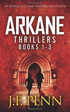 portada Arkane Thrillers Books 1 - 3: Stone of Fire, Crypt of Bone, ark of Blood (Arkane Omnibus) [Idioma Inglés] (libro en Inglés)