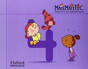 portada Iniciació a les matemàtiques 4 anys. Matematítico Cuaderno 4 (Valencià)