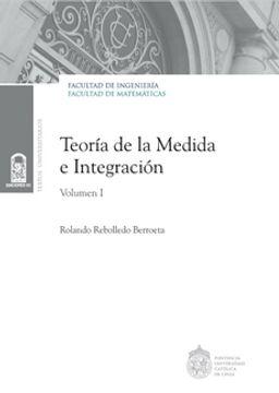 portada Teoria De La Medida E Integracion V.1