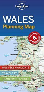 portada Lonely Planet Wales Planning map (libro en Inglés)