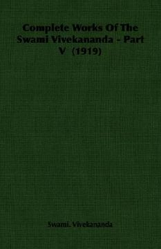 portada complete works of the swami vivekananda - part v (1919)