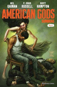 portada American Gods Sombras nº 06