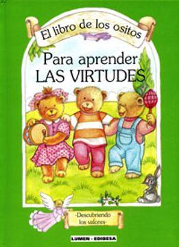 portada Libro de los ositos. Para aprender las virtudes (LIBROS PARA NIÑOS)