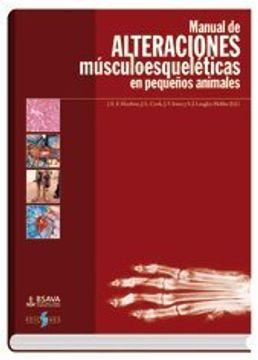 portada Manual de desordenes musculoesqueleticos en pequeños animales