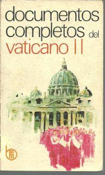 portada DOCUMENTOS COMPLETOS DEL VATICANO II