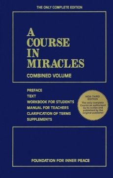 portada A Course in Miracles: Combined Volume (libro en Inglés)