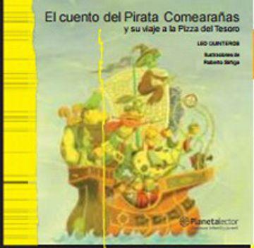 portada Cuento del Pirata Comearanas y su Viaje a la Pizza del Tesoro