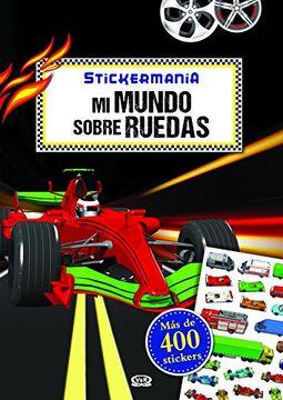 portada Mi Mundo Sobre Ruedas - Stickermania