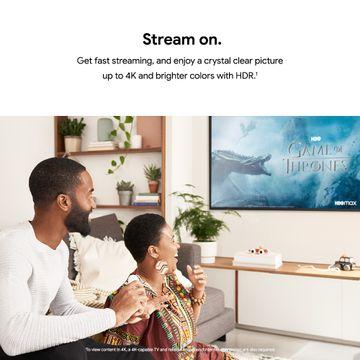 Google Chromecast™ 4 Con Google TV 4k + Control Remoto