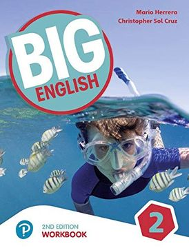 portada Big English ame 2nd Edition 2 Workbook With Audio cd Pack (libro en Inglés)