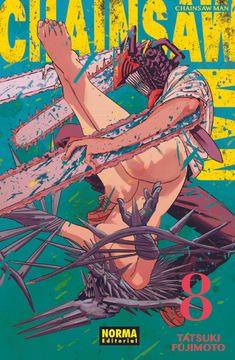 portada Chainsaw man 08