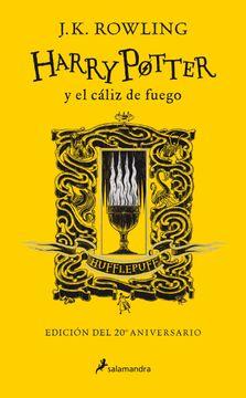 portada Harry Potter y el Cáliz de Fuego (Edición Hufflepuff del 20º Aniversario) (Harry Potter 4)