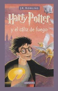 portada Harry Potter y el Caliz de Fuego 4     ***Encuadernado***