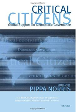 portada Critical Citizens: Global Support for Democratic Government (libro en Inglés)