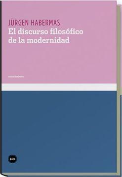 portada Discurso Filosófico de la Modernidad, el