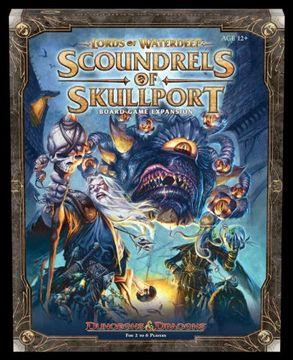 portada Lords of Waterdeep Expansion: Scoundrels of Skullport (D&D Boxed Game) (libro en Inglés)