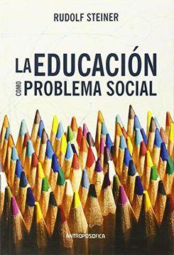 portada Educacion Como Problema Social
