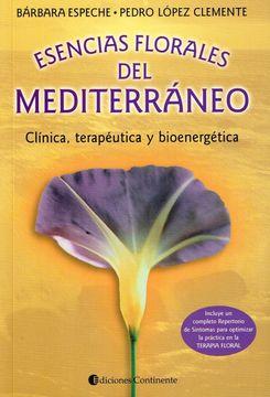 portada Esencias Florales Mediterráneo: Clínica Terapéutica y Bioenergética