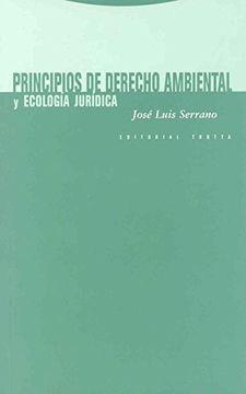 portada Principios de Derecho Ambiental y Ecologia Juridica