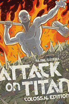 portada Attack on Titan: Colossal Edition 5 (libro en Inglés)