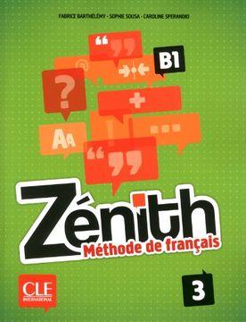 portada Zenith: Livre de l'Eleve 3 + Dvd-rom (French Edition)