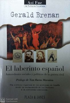 portada EL LABERINTO ESPAÑOL [APR 15, 1996] GERALD BRENAN